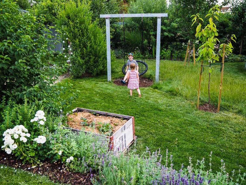 Familiengarten für Faule_Kinder