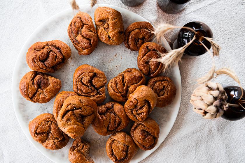 Vollkorn-Zimtschnecken Muffins