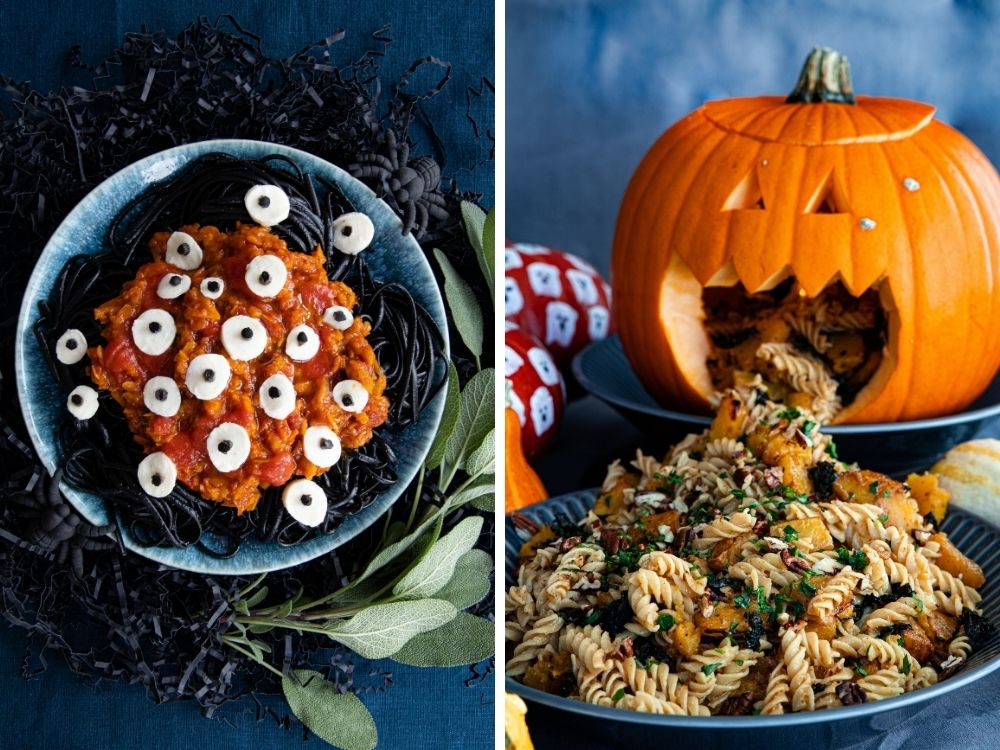 Halloween Rezepte Nudeln