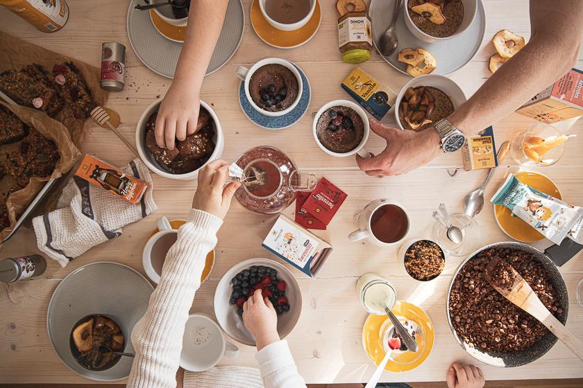Frühstückgerichte für Kinder